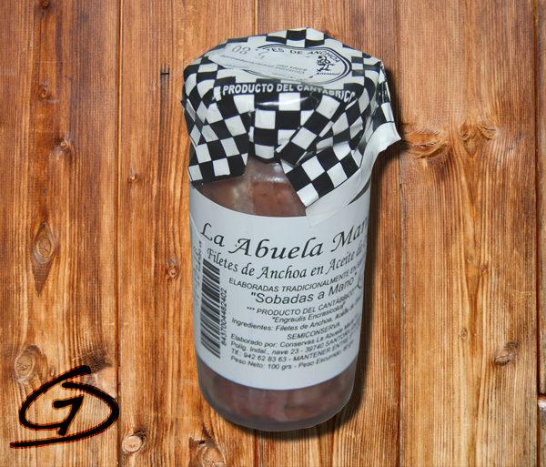 Anchoas de Santoña 100gr