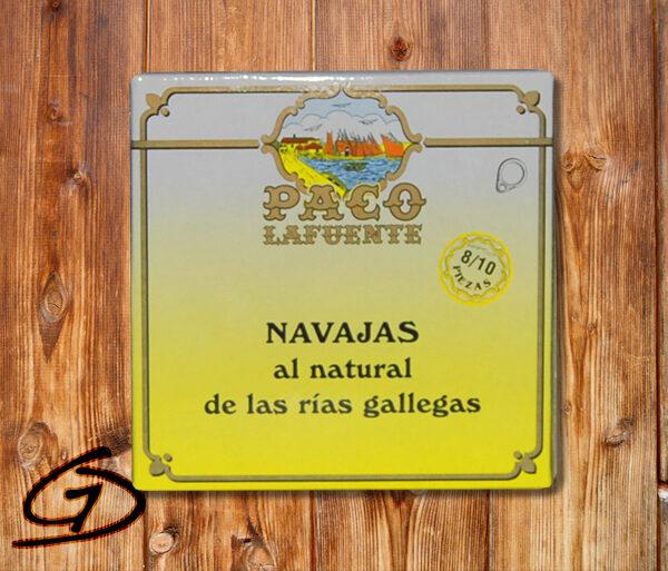 NAVAJAS AL NATURAL PACO LAFUENTE